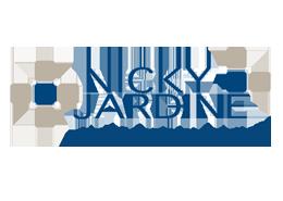 medical practice setup, management, consulting and marketing - nicky jardine - logo footer